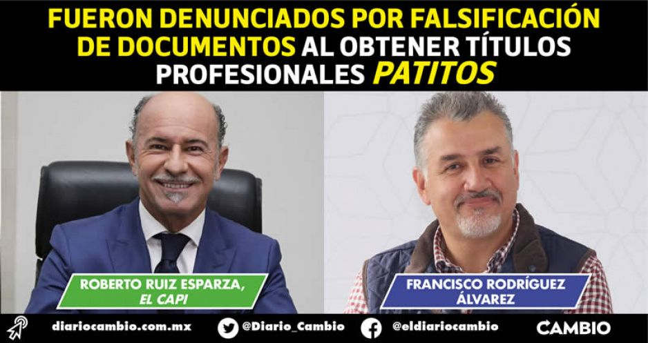 Juez libera órdenes de aprehensión contra El Capi Ruiz Esparza y Franco Rodríguez