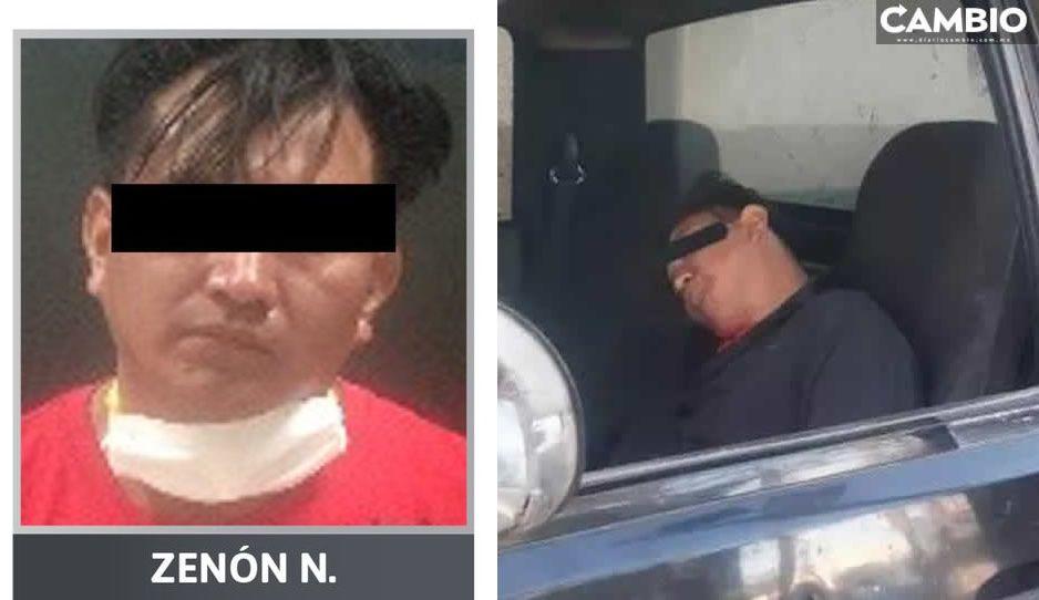 Así se ve Zenón tras las rejas, conductor borracho que arrolló a dos mujeres en Boulevard Norte