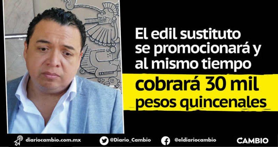 Campaña con cargo al erario en Tehuacán: Artemio busca la reelección sin dejar el cargo
