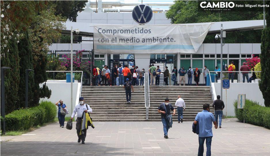 ¡Alerta en la Volkswagen ante la tercera ola! Trabajadores denuncian falta de medidas en la planta