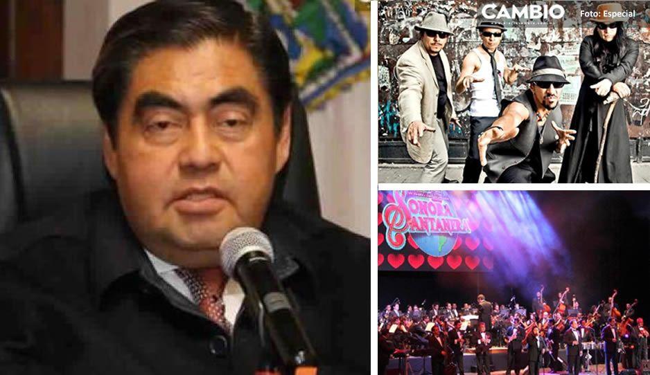 Habilitan registro digital para asistir a conciertos de Maldita Vecindad y Sonora Santanera (VIDEO)