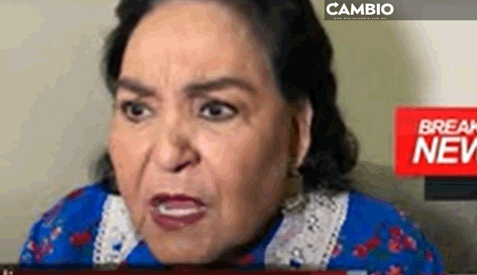Patán, mugroso: así destroza Carmelita Salinas a Lalo Mora por manosear a fan (VIDEO)