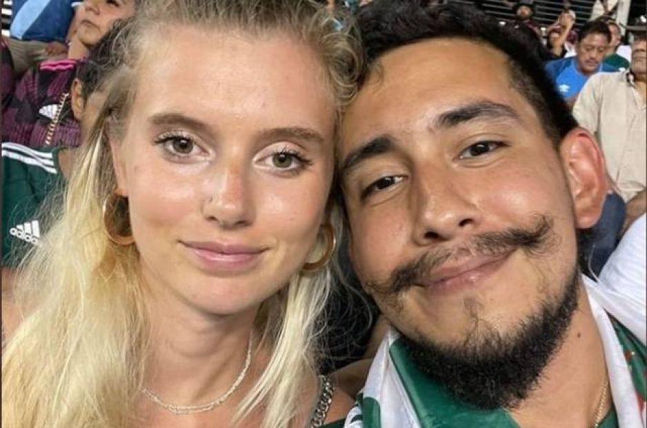 Conoce la historia del Toluco, el aficionado mexicano que se hizo viral con su novia gringa