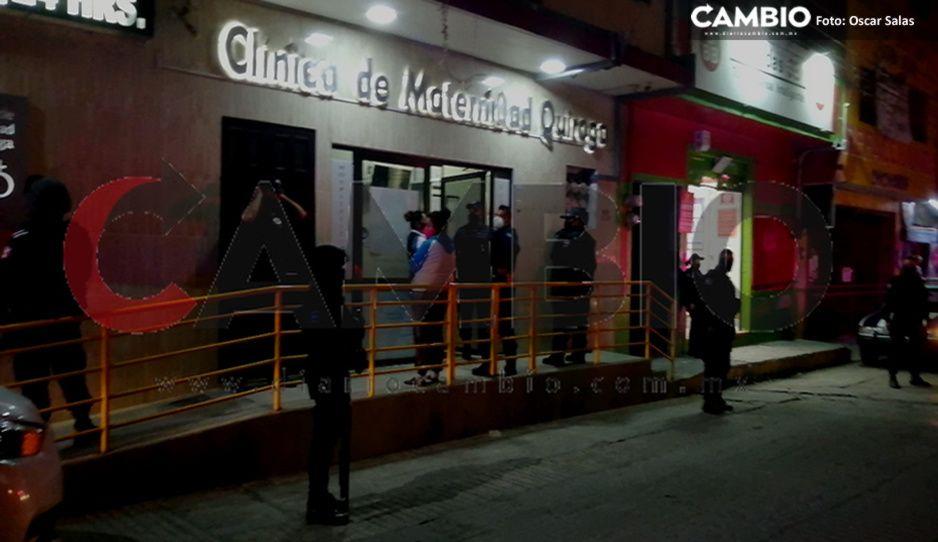 Huachicolero detenido en enfrentamiento con marinos intenta escapar de clínica en Xicotepec