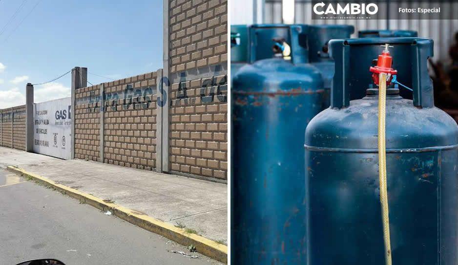 Profeco clausura gasera en Huejotzingo por no respetar los precios del gas LP