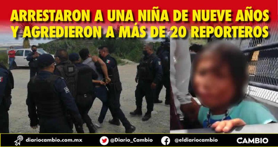 Policías de Tehuacán cometieron abusos en el desalojo del relleno sanitario
