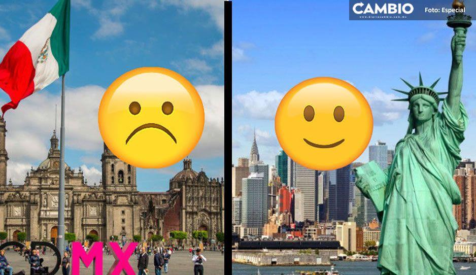 México tocando fondo; NO llega al top 10 de la felicidad del World Happiness Report