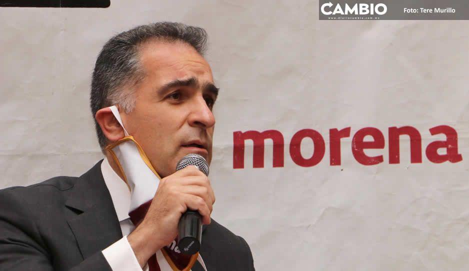 Morena fue secuestrado por Claudia y sus aliados, lo recuperaremos: Bracamonte (VIDEO)