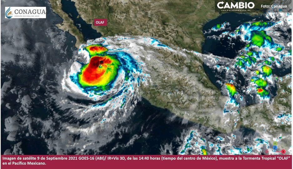 En Baja California le temen a Olaf, huracán categoría 1