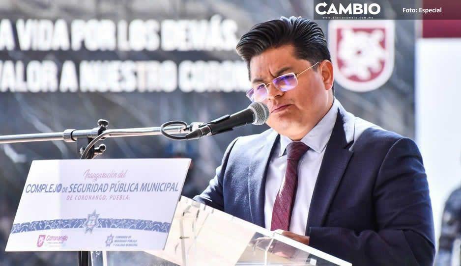 Toño Teutli agradece a su equipo el trabajo realizado en el Ayuntamiento de Coronango