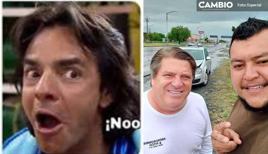¡Nooo! El Piojo choca en Monterrey y conductor le pide SELFIE