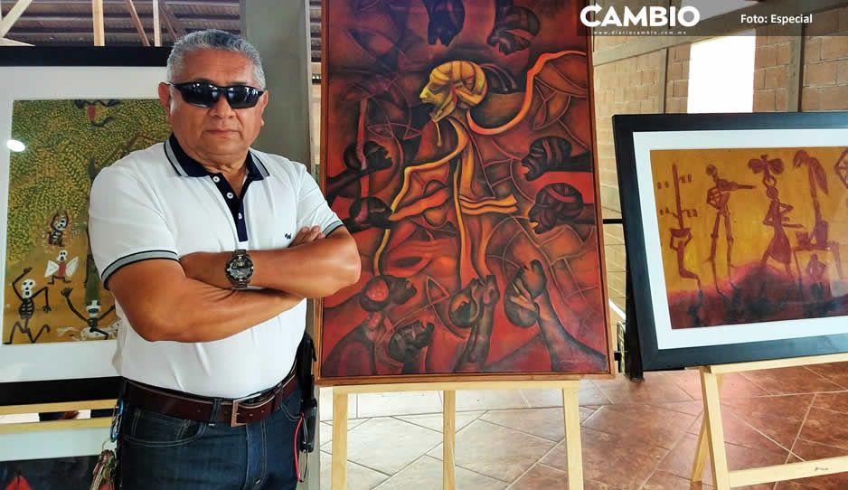 Exhiben en Haras obra pictórica de los maestros Oaxaqueños (FOTOS)