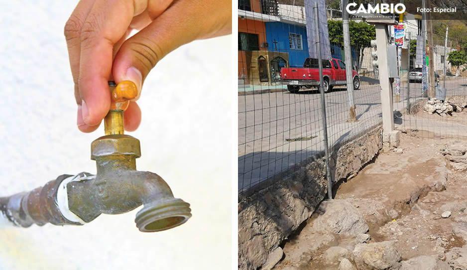 Recrudece escasez de agua en Tehuacán por explotación de pozos clandestinos