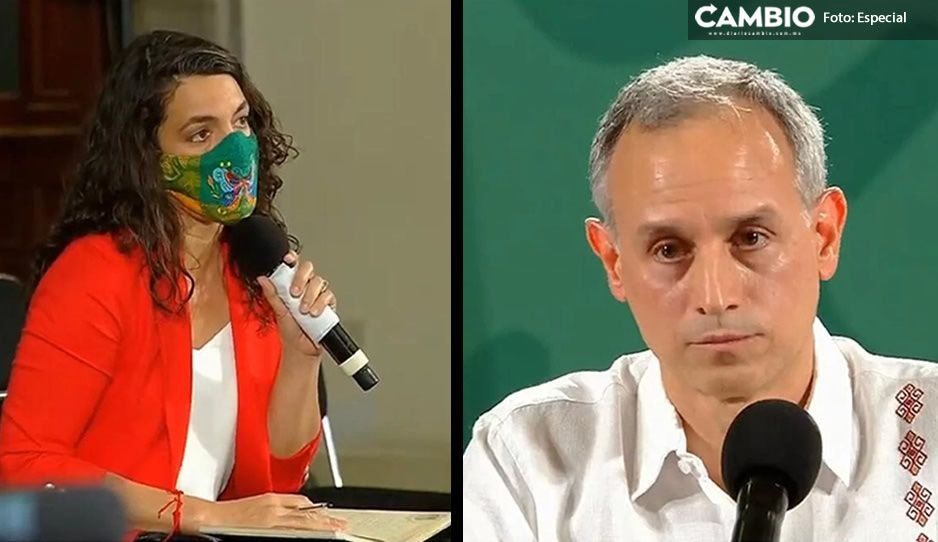 Periodista enfrenta a Gatell; le pregunta sobre vacunas CanSino y no responde (VIDEO)