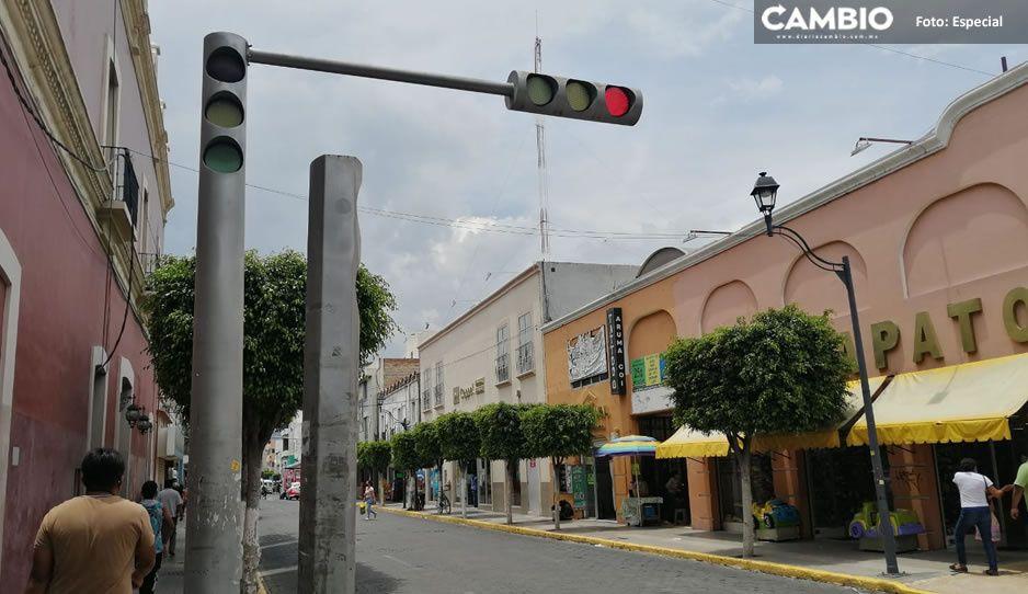 Destinan inversión millonaria para renovar semáforos obsoletos en Tehuacán
