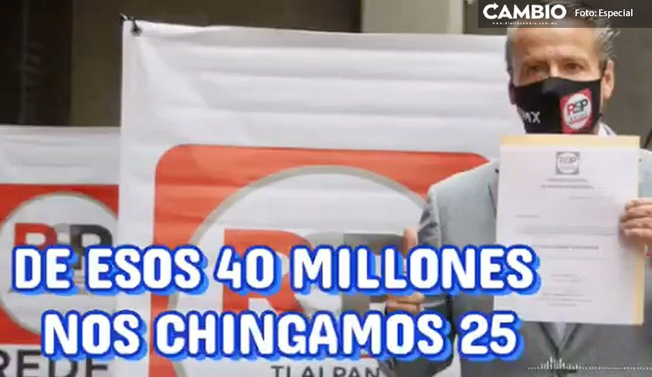 Audioescándalo: Alfredo Adame se 'roba' 25 millones de su campaña a diputado federal con RSP
