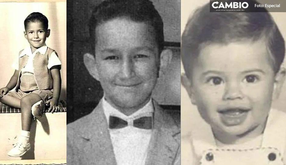 FOTOS: Así lucían los presidentes mexicanos en su niñez ¡Morirás de ternura!