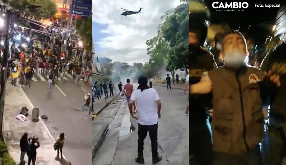 Estos son los VIDEOS más impactantes de los enfrentamientos en Colombia