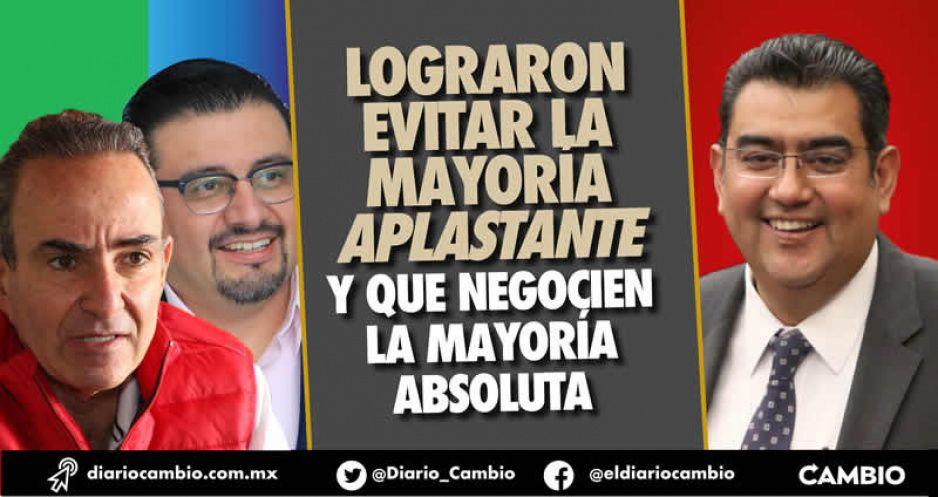 Crisis en el Congreso: PRIAN alcanza a Morena y empatan a 16 legisladores