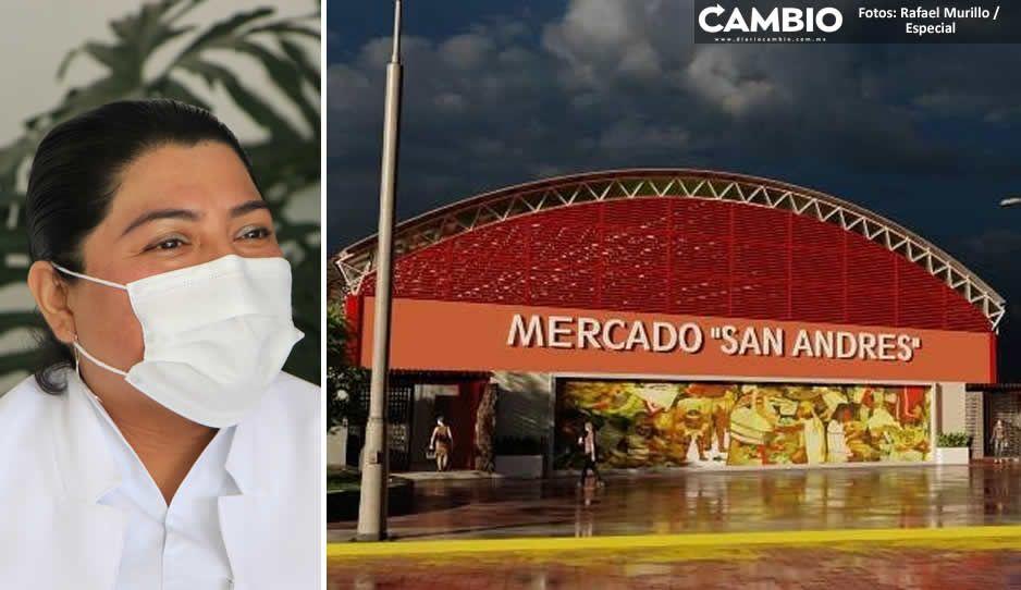 Nuevo mercado de San Andrés Cholula será inaugurado en abril: Pérez Popoca