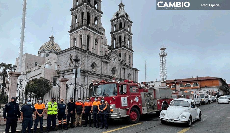 Con éxito y buena respuesta se lleva a cabo segundo mega simulacro en Teziutlán