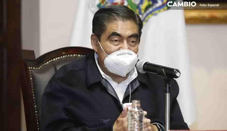 Sin condiciones para reanudar martes ciudadano en Puebla: Barbosa