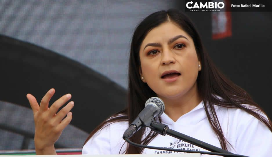 Con ampliación de 15 millones Claudia Rivera pagó en julio condones, conferencias y una boda