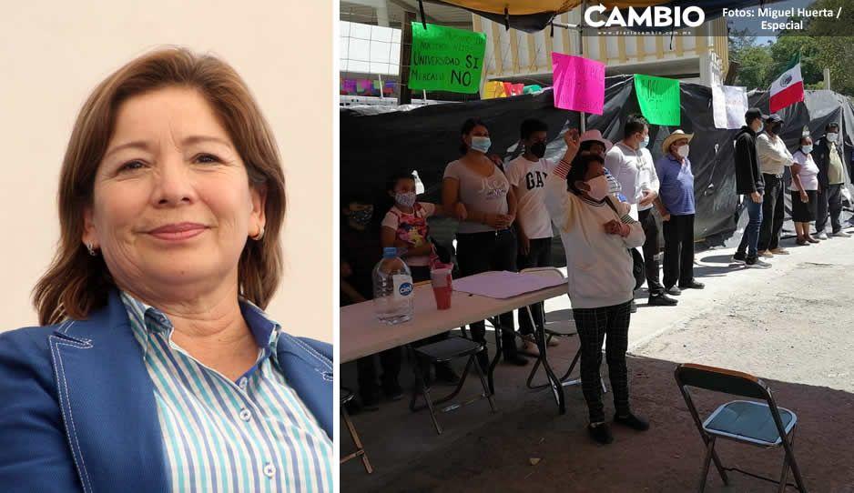 Día 0 en Tecamachalco: Marisol quiere inaugurar su mercado, alista grupos de choque armados