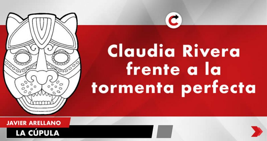 Claudia Rivera frente a la tormenta perfecta