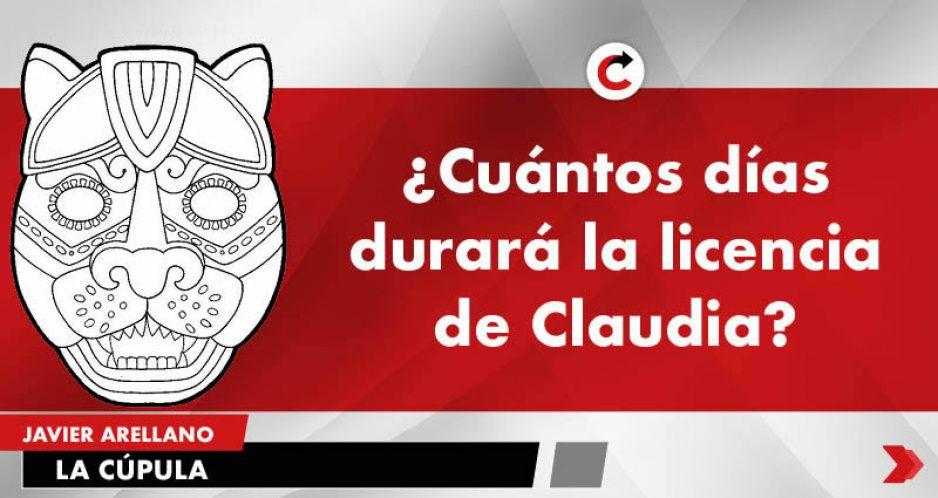¿Cuántos días durará la licencia de Claudia?