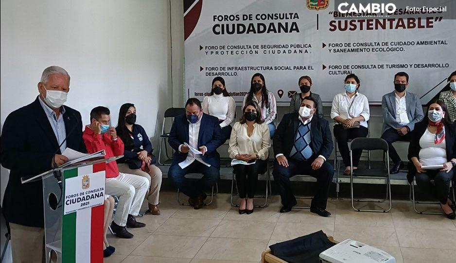 Gobierno de Teziutlán, abre por primera vez convocatoria para Foros de Consulta Ciudadana