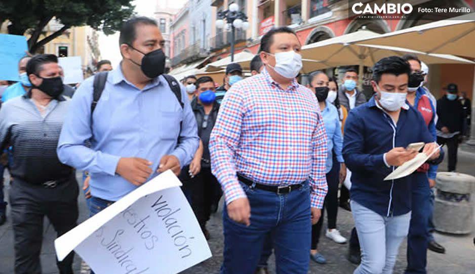 Gonzalo Juárez sigue con su show: amaga con paro de labores de sindicalizados