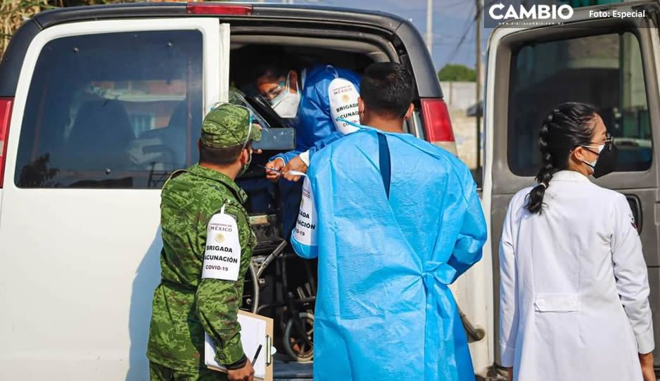 Con tres horas de retraso; inicia la jornada de vacunación AntiCovid en Chiautzingo