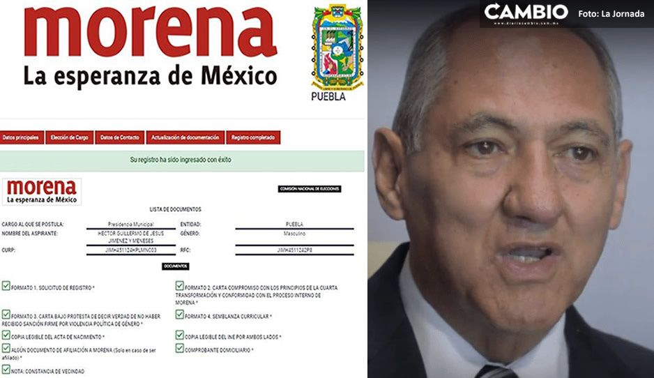 Diputado Jiménez y Meneses pide licencia para buscar alcaldía de Atlixco