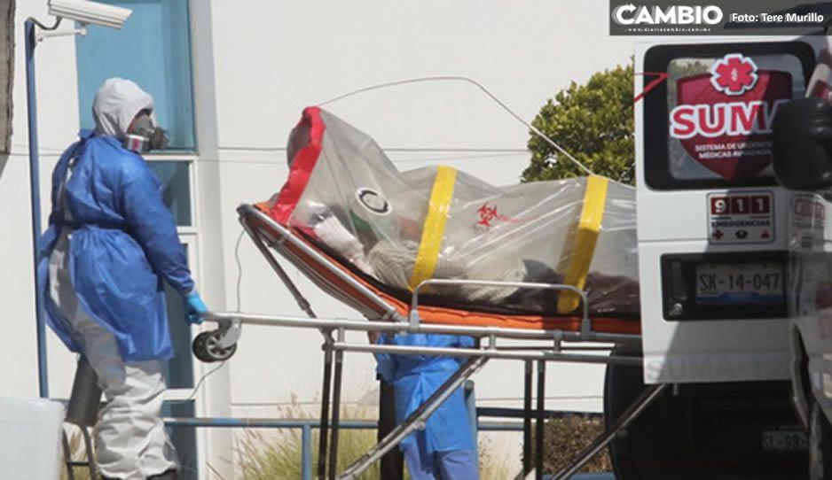 Reporte COVID a la baja: 113 contagios, 39 defunciones y 881 hospitalizados en Puebla