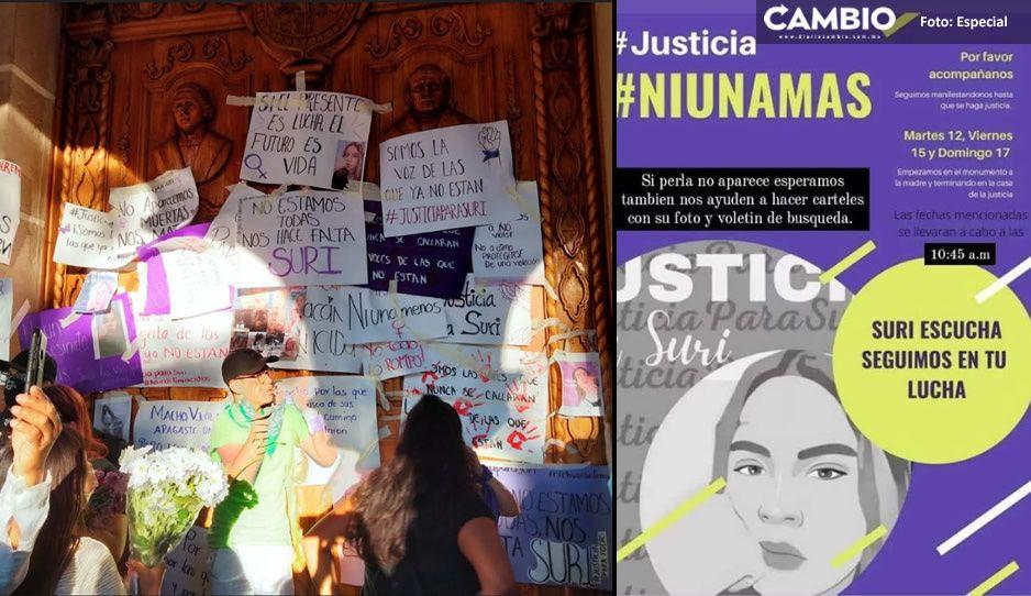'Seguimos en la lucha' Exigen justicia por el asesinato de Suri Saday en Tehuacán