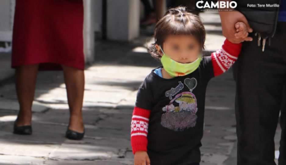 Puebla tiene 23 niños hospitalizados por COVID; 7 son bebés menores de un año