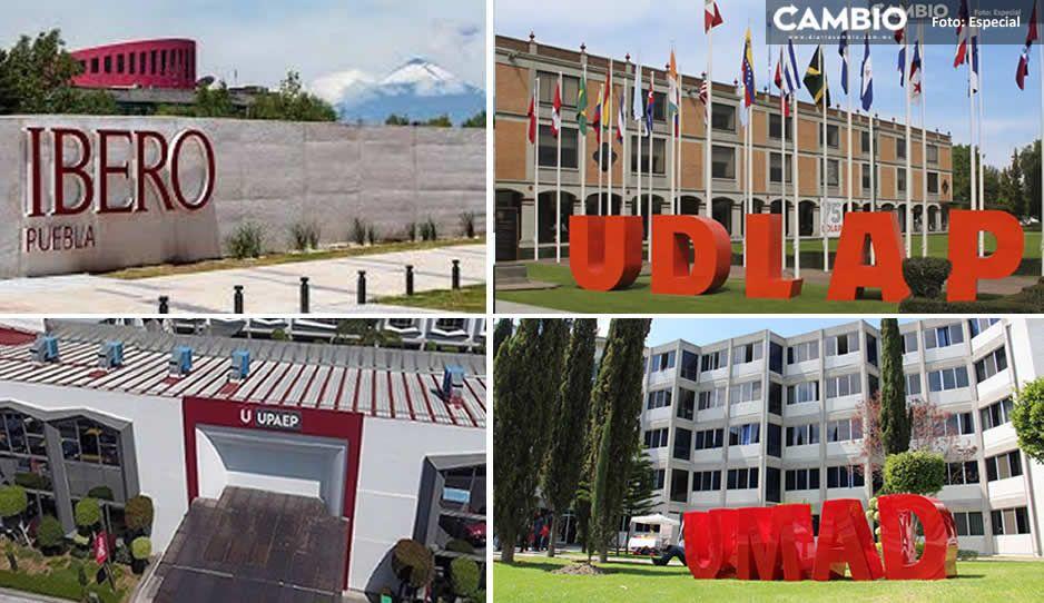 Universidades privadas de Puebla solicitan a la SEP reanudar clases presenciales en mayo
