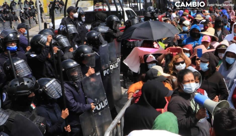 Tras manifestación detienen a integrante del grupo de El Toñín