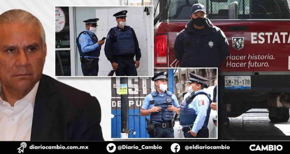 En Puebla se han contagiado 272 polis de COVID; es cuarto lugar nacional