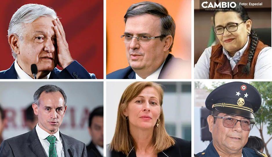 Estos son los 5 funcionarios que entraron a cuarentena tras contagio de AMLO