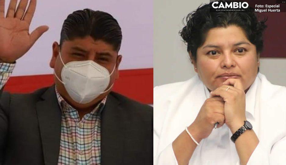 Karina Pérez respalda a Roberto Maxil como edil interino de San Andrés Cholula