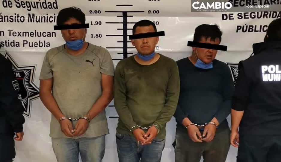 Detienen a integrantes de la banda de Los Moyos, encargados de sembrar terror en Texmelucan