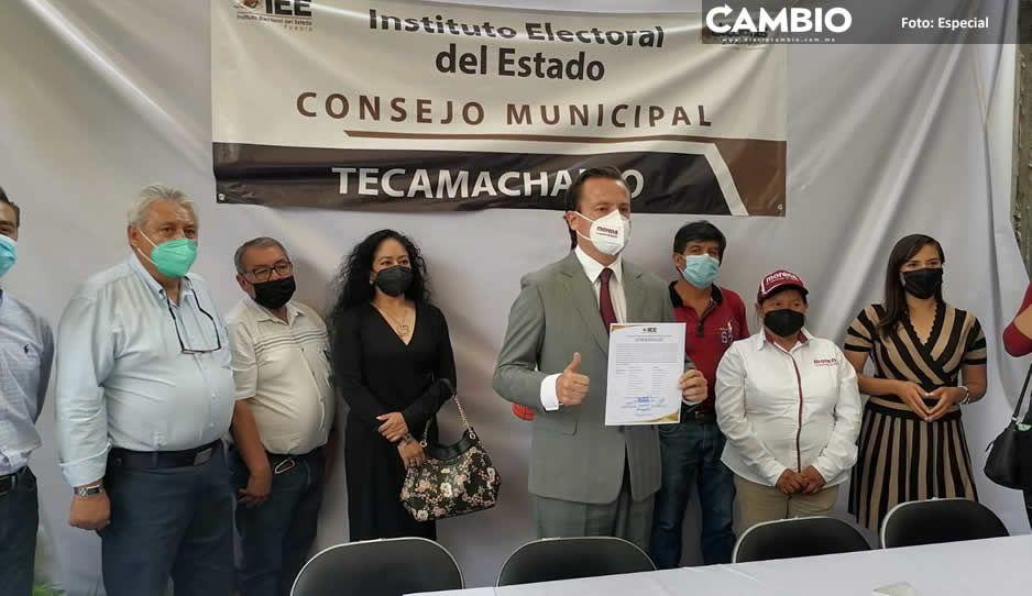 Nacho Mier recibe su constancia de mayoría como presidente electo de Tecamachalco (VIDEO)