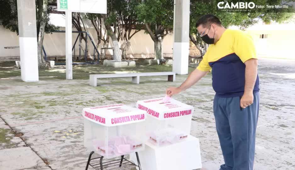 Puebla registra 20 incidentes menores durante la consulta popular (VIDEO)