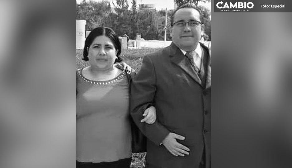 Ni la muerte los separó: matrimonio de doctores de Tepeaca murió con horas de diferencia