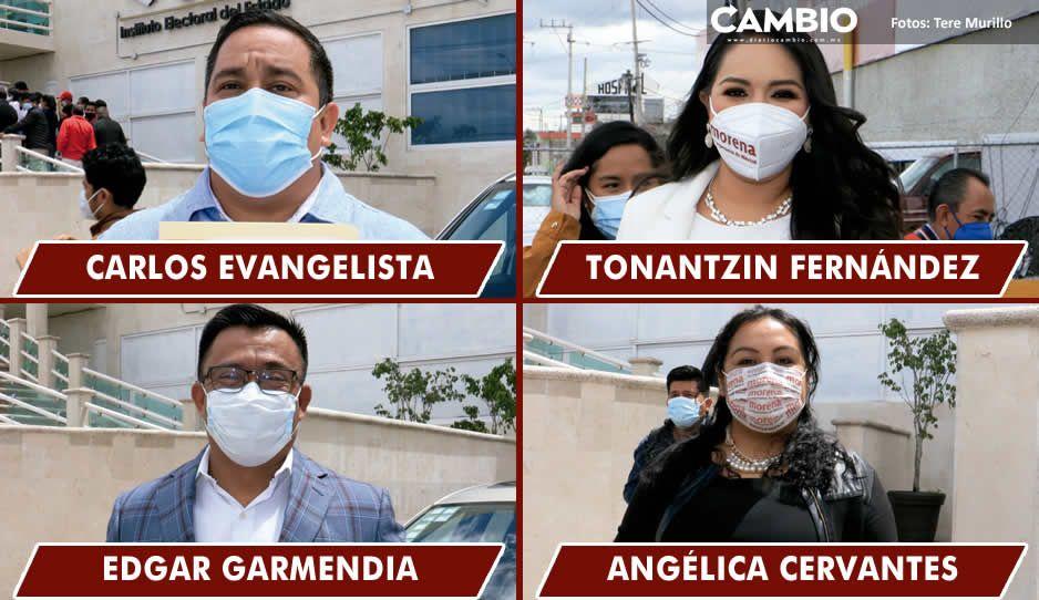 IEE entrega constancia a Evangelista, Tonantzin, Garmendia y Cervantes (FOTOS Y VIDEO)