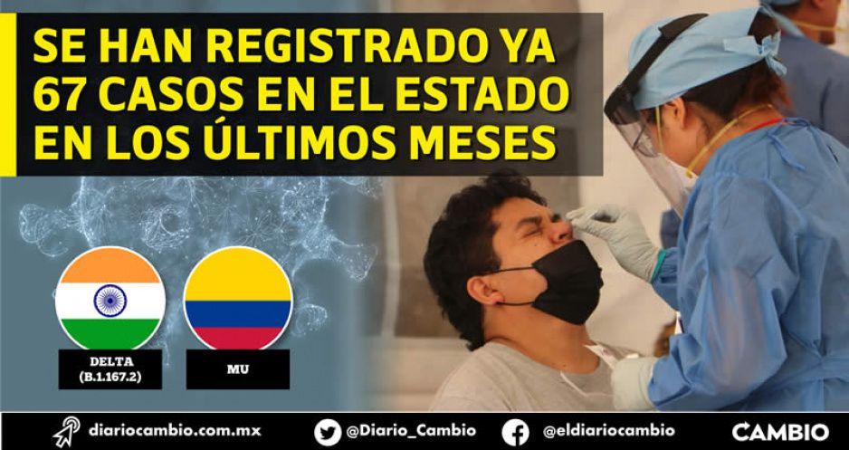 Variante Delta sigue multiplicándose en Puebla; ya se detectaron 18 contagios de la cepa Mu: INDRE