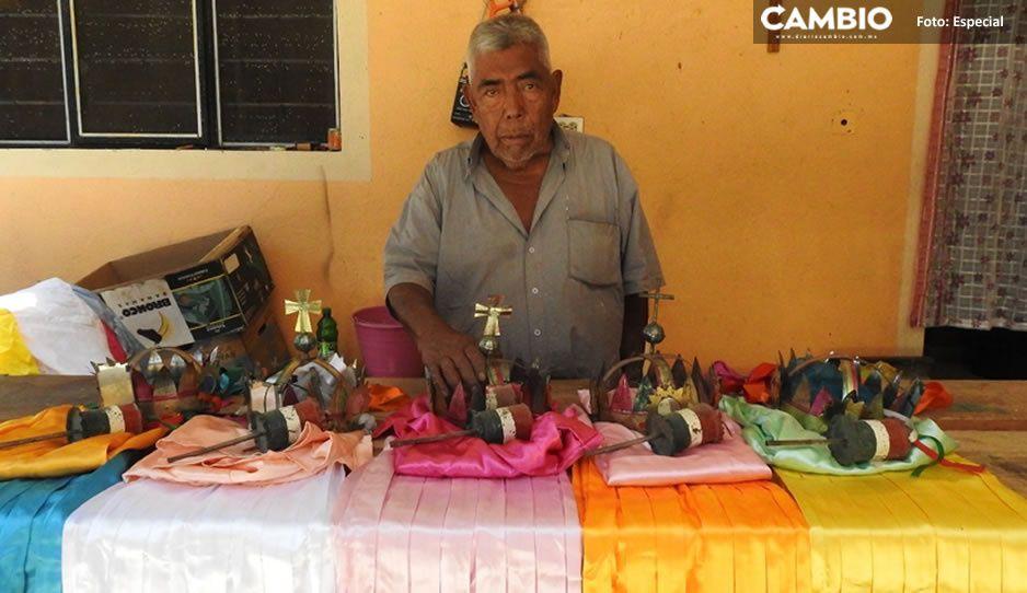¡Orgullo poblano! Otorgan reconocimiento a Don Hilario por promover con pasión la cultura de Tochimilco