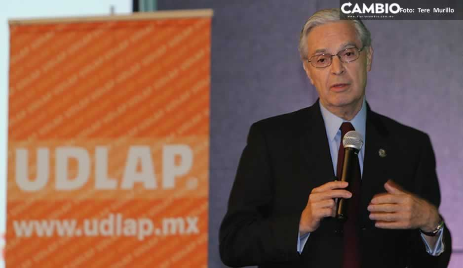 El rector Derbez dice que no habrá dinero para pagar la nómina UDLAP por bloqueo